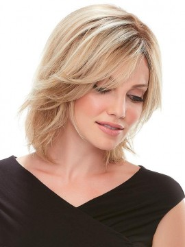 Top Form 8 Remy Human Hair Piece Mono Top by Jon Renau