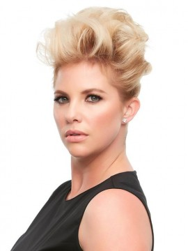 Top This 12 Remy Human Hair Piece Mono Top by Jon Renau