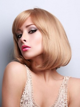 Topaz Wig Human Hair Hand Tied Mono Top by Louis Ferre