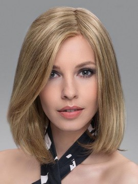 Vario Top Piece Lace Front Hand Tied Human Hair/Heat Friendly Blend by Ellen Wille