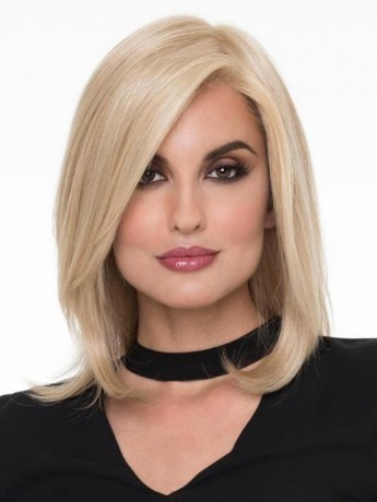 Zoey Wig Lace Front Hand Tied Human Hair/Synthetic Blend by Envy