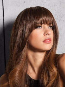 Clip in Bangs Heat Friendly by Hairdo