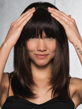 Human Hair Clip in Bangs by Hairdo